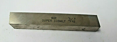 Super Cobalt 34 Square 5 Long Lathe Tool Cutting Hss Bits Ground New Besly