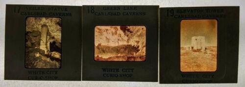 1950s Whites City Curio Shop New Mexico Carlsbad Caverns Slide Lot Green Lake