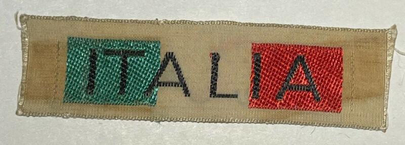 International Patch Italia  badge  Boy Scout TK1