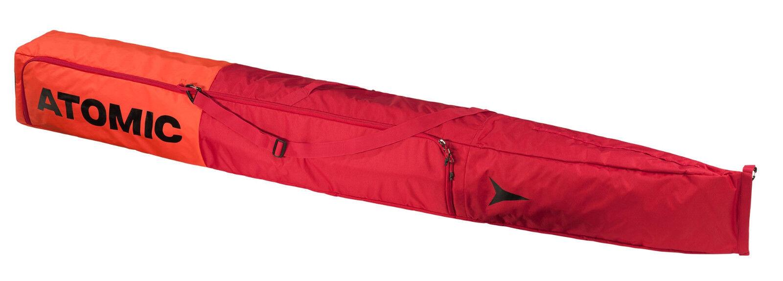 ATOMIC DOUBLE SKI BAG PADDED für 2 Paar Skitasche Skisack Collection 2019 - NEU
