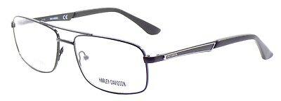 Harley Davidson HD0729 002 Men's Eyeglasses Frames 56-16-140 Black + CASE