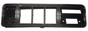73-79 FORD F100 - F350 TRUCK & 78-79 BRONCO CHROME & BLACK DASH BEZEL WITH  A/C