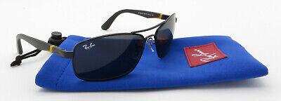 Ray Ban Junior Sunglasses RJ9536S Black Orange Aviator Frame Grey Lenses