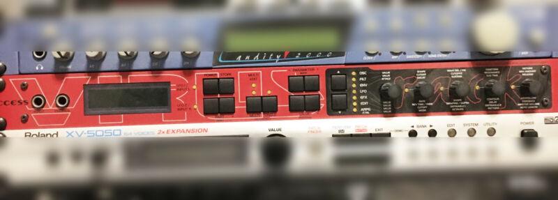 Access Virus Rack Synthesizer - used - midi - polyphonic