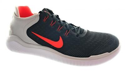 2acfa2b8415 Men s Nike Free RN 2018 Running Shoes 942836-005 Black Grey Crimson Size  11.5