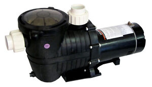 High Performance Swimming Pool Pump In-Ground 1 HP with Union Fittings