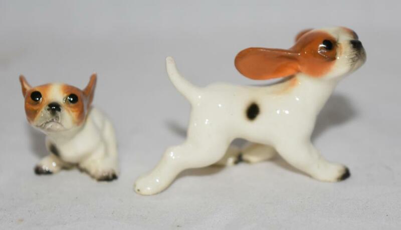 Hagen Renaker Miniature Dog Figurines RARE