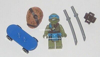 Lego TMNT 79117 Ninja Turtle Lair Invasion Leonardo Minifigure & Blue - Blue Ninja Turtle