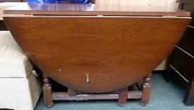 Vintage gateleg dining tables