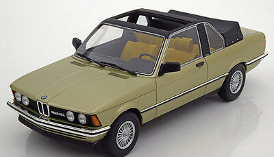 1979 BMW 323i E21 Baur Conv. Light Green Met. by BoS Models LE of 1000 1/18