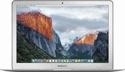 """Apple MacBook Air 13.3"""" Intel Core i5 8GB 128GB SSD Silver MQD32LL/A - New"""