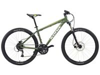 2015 Kona MTB Fire Mountain hardtail mountain bike - used twice