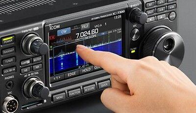 ICOM IC-7300 HF 50MHz SSB/CW/RTTY/AM/FM 100W Transceiver Receiver