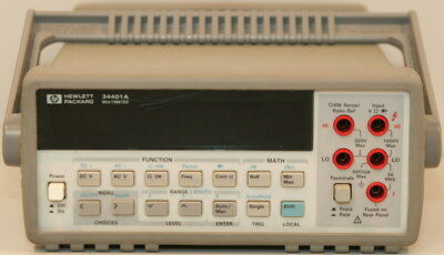 Agilenthp 34401a Digital Multimeter 6.5 Digit 6