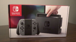 Brand New Never Opened Nintendo Switch Grey $320 FIRM