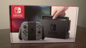 Brand New Never Opened Nintendo Switch Grey $340 FIRM