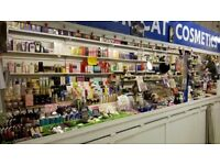 INDOOR MARKET STALL: Cosmetics & Household plus adjacent Jewellery stall - Offers welcome