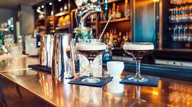 Barbacks/bartenders/bar managers