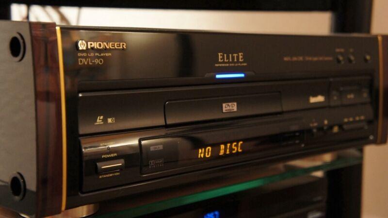 Pioneer Elite DVL-90 LD/CD/DVD Player