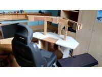 racing simulator COCKPIT RIG PC steering wheel seat