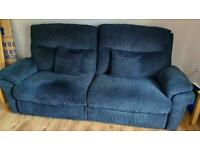 Layzboy 3 seater electric reclining sofa