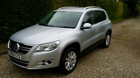VW Tiguan 2.0 TDI SE - Quick sale bargain price. Great service history and new MOT.