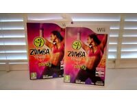 WII zumba dance/ exercise game