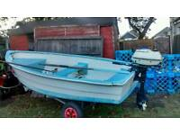 10ft boat, Tender, fishing boat
