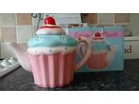 Cupcake shaped Teapot