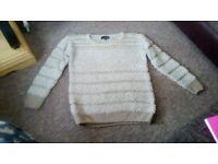 Aftershock london jumper size 8