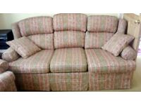 M&S sofa and 2 matching armchairs