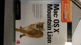 Mac OS X Mountain Lion ...book...£10