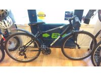 """Rockrider Zero alloy frame small 16"""" hybrid, new chainset,chain and freewheel just fited bike"""