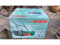 BOSCH Lawn Mower, Brand New & Still In Box, (reducecd price) - Manually Operated Rotary Mower