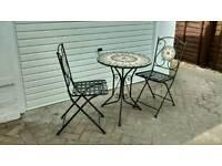 2-seater patio set