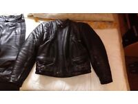 BUFFALO FULL LEATHER SUIT ( 2 PIECE )