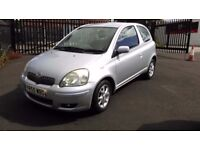 Cheap Car 2005 Toyota Yaris 1.3 VVT-i Colour Collection 3dr - Full Service History - One Owner