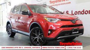 2017 Toyota RAV4 SINGLE OWNER SE LEATHER NAV BLIND SPOT MONITOR