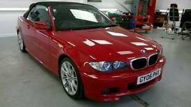 Bmw 320ci M3 sport convertible with very low milage
