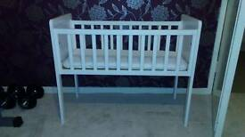 Crib with mattress