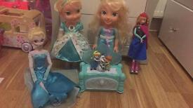 Frozen doll