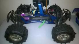HPI SAVAGE NITRO BUGGY AND CONTROLLLER