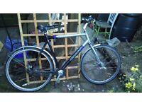 Men's Giant Melbourne city bike, XXL frame, 7 speed hub gears