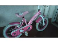 Hello kitty kids bike