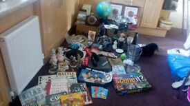 Job lot of household goods suit car booter