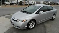 2009 Honda Civic EX-L, Leather, 75 Kms, Sunroof
