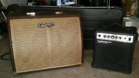 Cruiser by Crafter CR35A amp and Watson practice amp