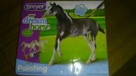 Breyer paint your own horse