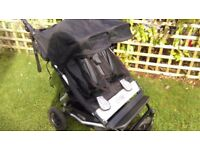 Mountain buggy duet great double pushchair