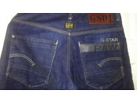 G star jean size 30 waist mint hardly worn once to try on .